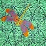 Green Queensize Doona cover & 2 pillowcases detail