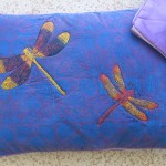 Quilted Satin Purple pillowcases