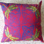 Red Dragonfly Cushion