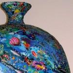 Giant Fish pot detail 2-Mick Ward