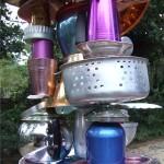 Teapot Totem 2-Mick Ward