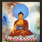 Buddha1-acrylic on canvas