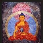 Buddha2-acrylic on canvas