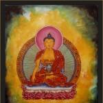 Buddha 3-acrylic on canvas