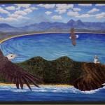 Byron Circa1901-acrylic on canvas