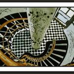 Light House Interior-lino print